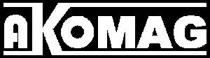 Akomag logo bianco