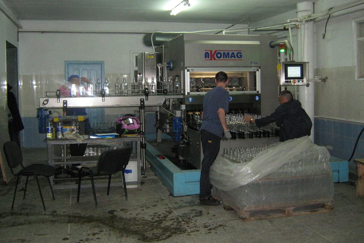 Pixis lavabottiglie Akomag
