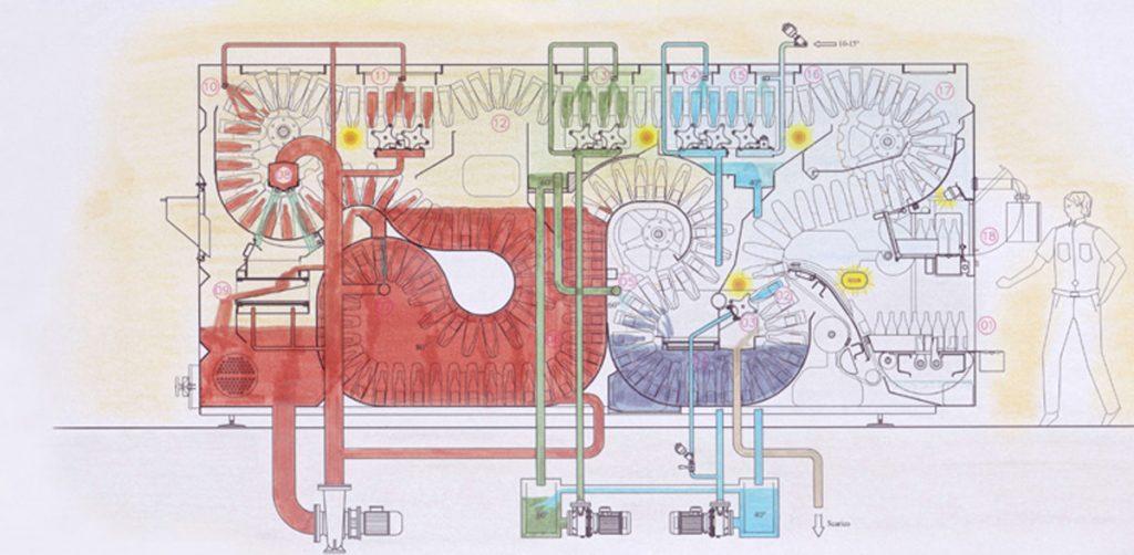 Hydra 6 disegno